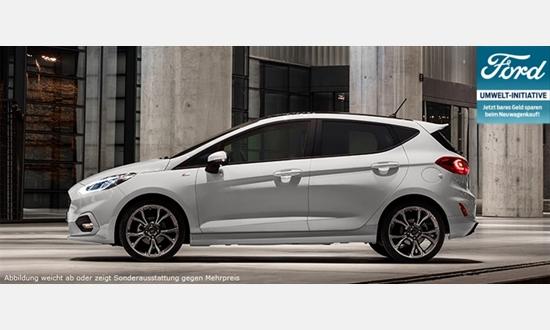 Foto des Serviceangebots Ford Fiesta Trend 1,1l für 8.950€