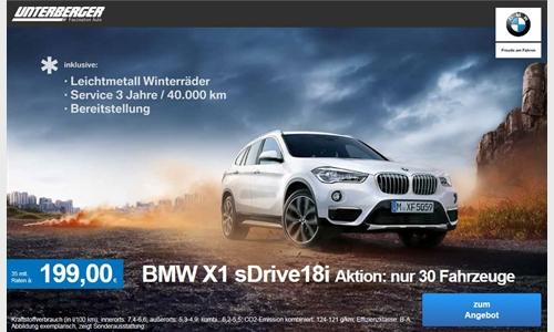 Foto der News BMW X1 sDrive18i