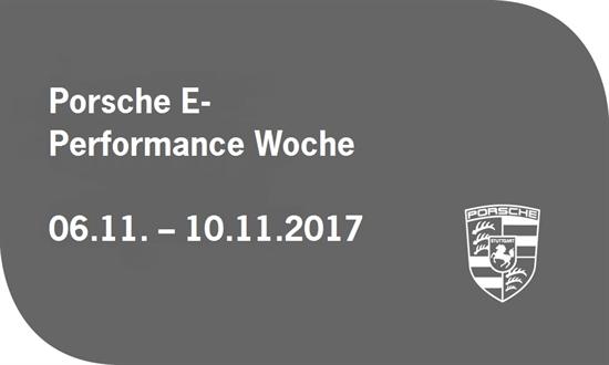 Foto des Events Porsche E-Performance Woche