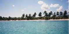Flossfahrt am Strand von Punta Cana (Quelle: Privat)