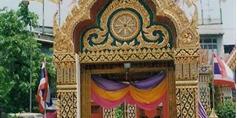 Eingang zum Wat Trimitre