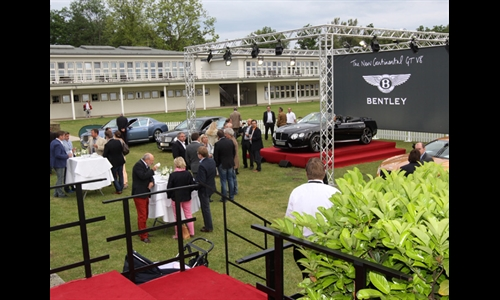 Foto der News Bentley Präsentation Kamps Hannover 07.06.2012
