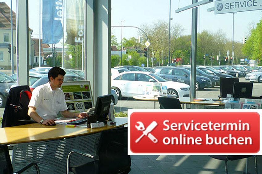 Foto des Serviceangebots Servicetermine online buchen.