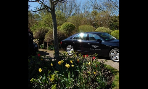 Foto der News Look & Drive Sylt Ostern 2014 - Bentley Hannover