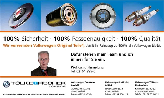 Foto des Serviceangebots Volkswagen Original Teile