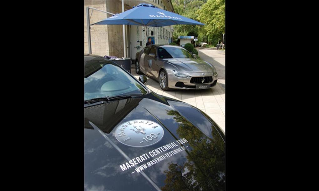 Maserati Centennial Tour Hannover 2014