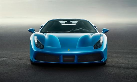 Bild der News Ferrari 488 Spider: bestechende Leistung und müheloser  Fahrspaß für maximales Open Air-Vergnügen