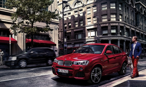 Foto der News Impulsive Performance. Der neue BMW X4 M40i.