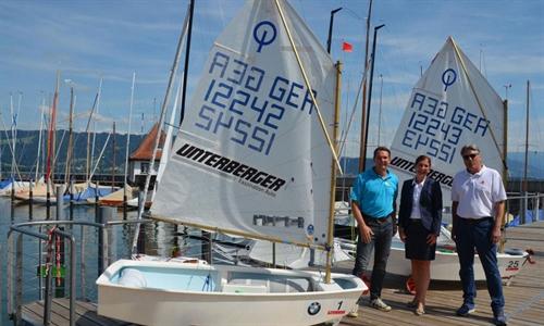Foto der News Autohaus Unterberger engagiert sich im Lindauer Segler-Club