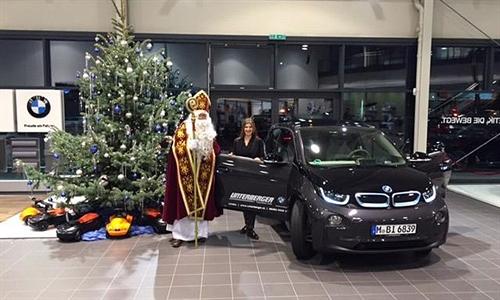 Foto der News Ein E-Schlitten für den Nikolaus