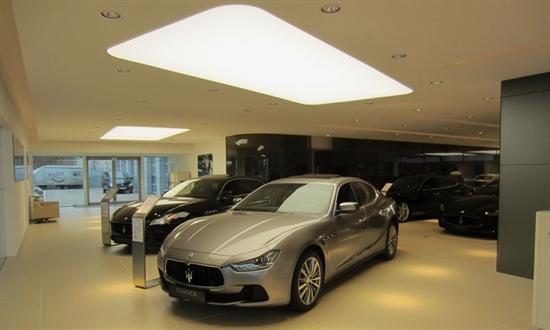 Bild des Events Der Umbau des Ferrari & Maserati Showrooms ist abgeschlossen