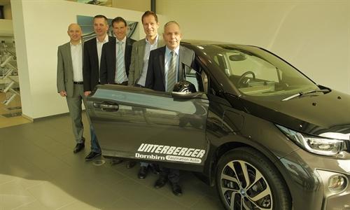 """Foto der News Unterberger Dornbirn """"elektrifiziert"""" Vorarlberg als exklusiver BMW i Vertragspartner"""
