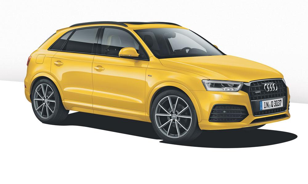 Anzeige: Unterwegs in Richtung Fahrspaß. Der Audi Q3.