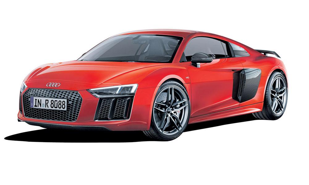 Anzeige: Auf der Rennstrecke geboren. Für die Straße gebaut. Der neue Audi R8.