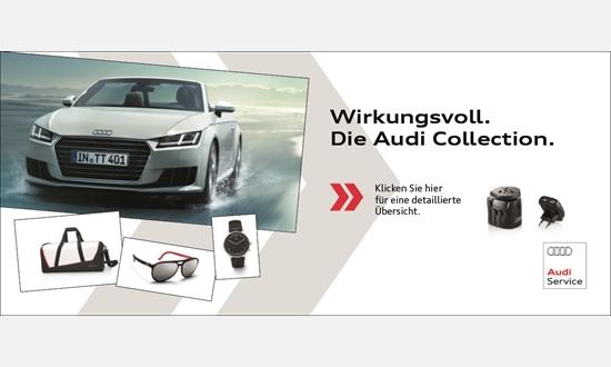 Foto des Zubehörangebots Die Audi Collection