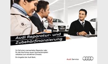 Foto des Serviceangebots Audi Reparatur- und Zubehörfinanzierung