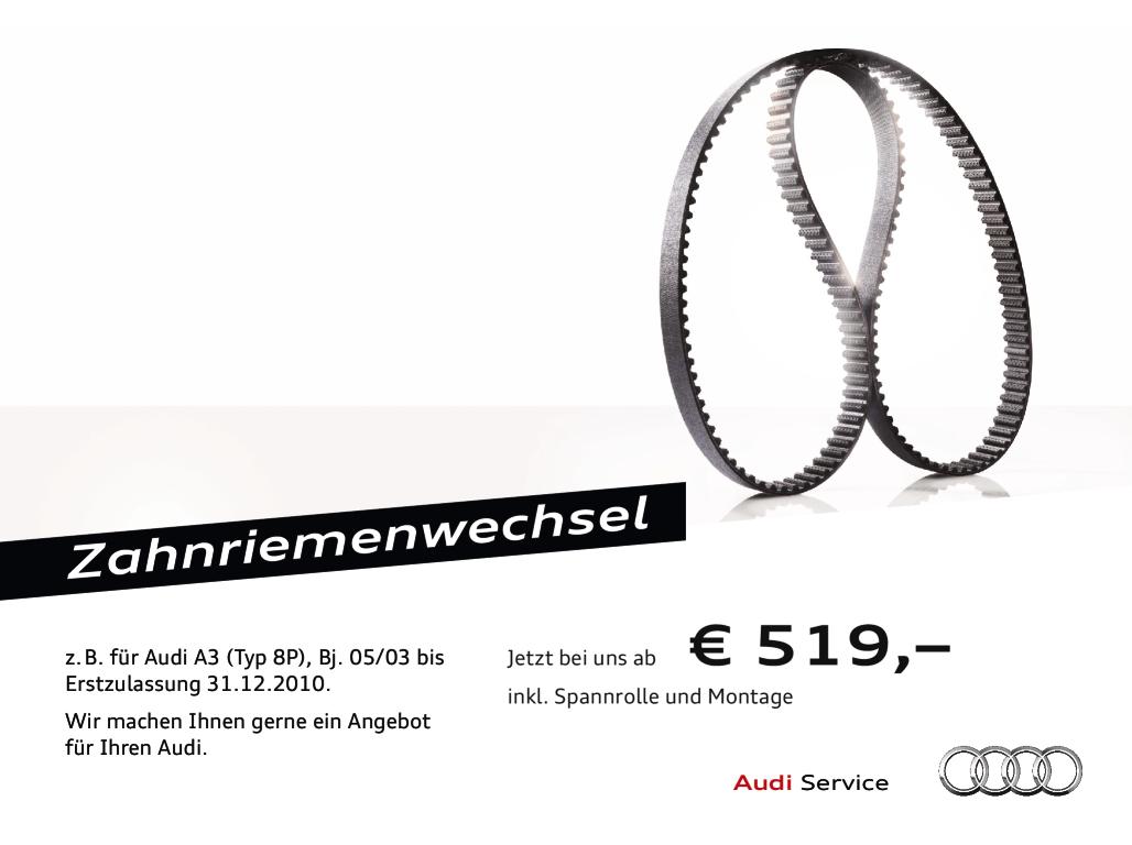Foto des Serviceangebots Zahnriemenwechsel.