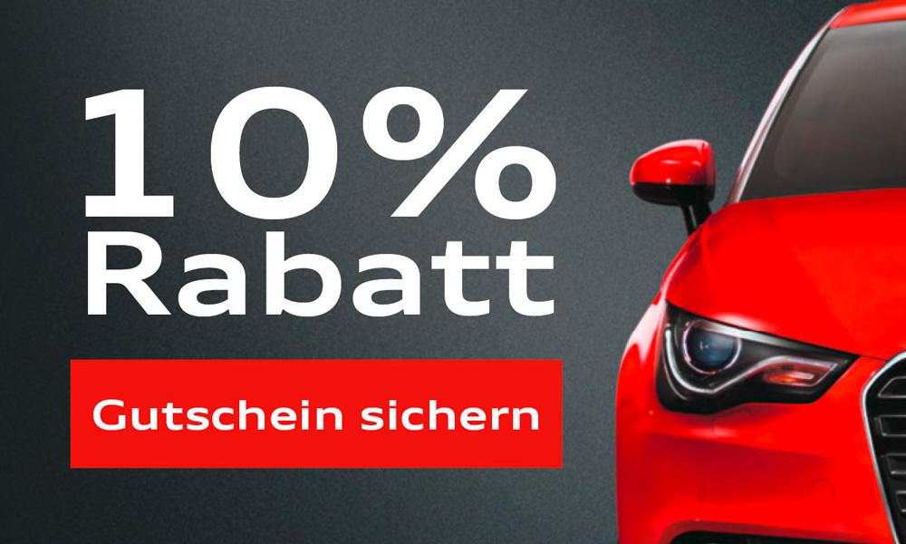 Foto des Serviceangebots 10% Rabatt auf ausgesuchte Audi Originalteile, Zubehör und Serviceleistungen.