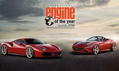 Foto der News Ferrari's turbogeladener V8-Motor wird als Motor des Jahres ausgezeichnet