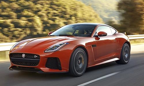 Foto der News Der neue Jaguar F-TYPE SVR Coupé und Cabriolet