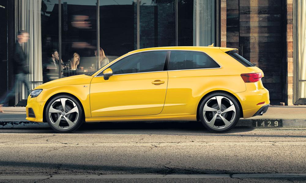 Anzeige: Kostet nicht die Welt. Der neue Audi A3