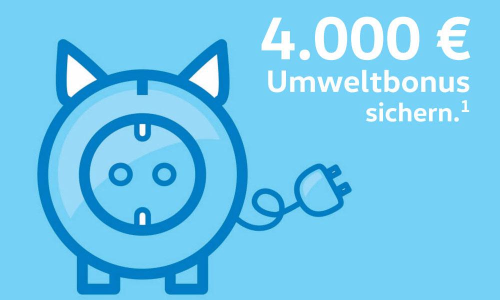 Anzeige: 4.000 € Umweltbonus sichern.¹