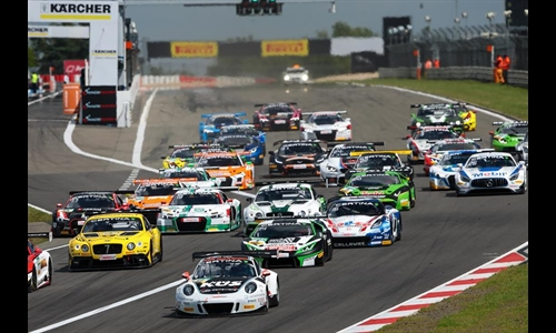 Foto der News ADAC GT Masters Nürburgring – 06.08.2016