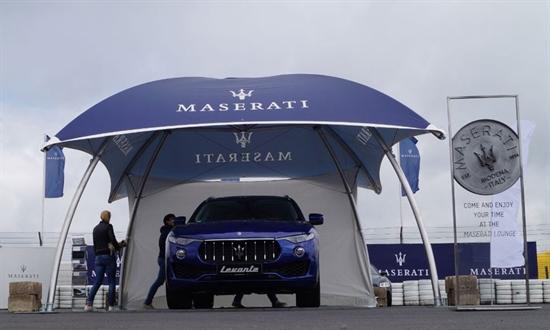 Bild der News Maserati beim Oldtimer-Grand-Prix 2016