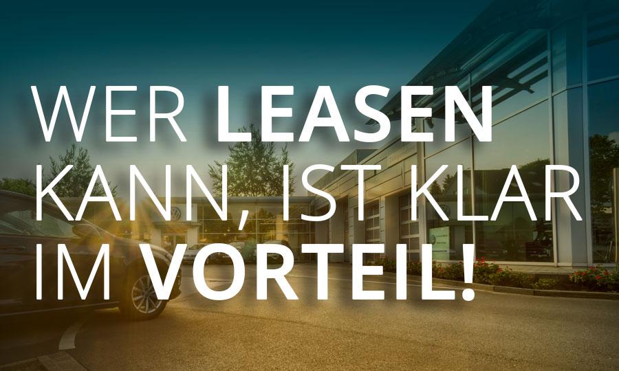 Anzeige: Wer leasen kann ist klar im Vorteil!