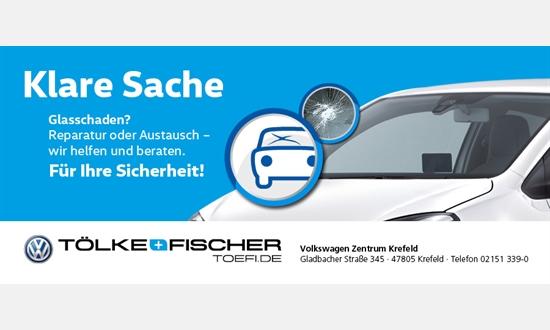 Foto des Serviceangebots Windschutzscheibenreparatur für Ihren Volkswagen