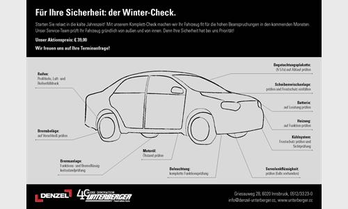 Foto des Zubehörangebots Wintercheck in der Autowelt Innsbruck