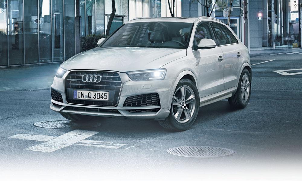 Anzeige: Der Audi Q3 mit Technology selection.