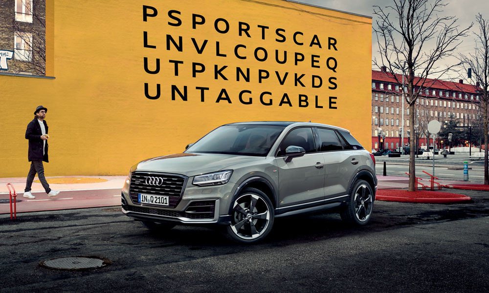 Anzeige: Der neue Audi Q2. #untaggable