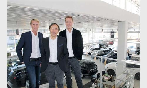 Foto der News Staffelübergabe in der Autowelt Denzel-Unterberger