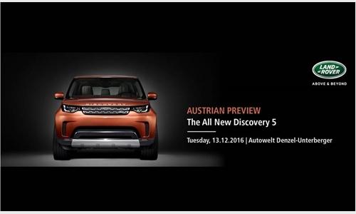 Foto der News Vorstellung Land Rover Discovery am 13.12.2016