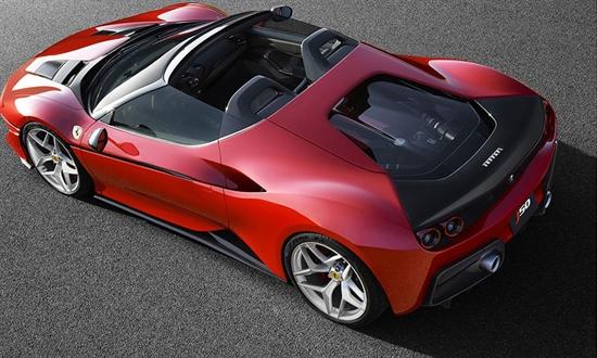 Bild der News Weltpremiere des Ferrari J50