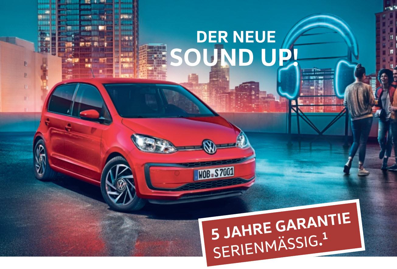 Anzeige: Der neue SOUND up!