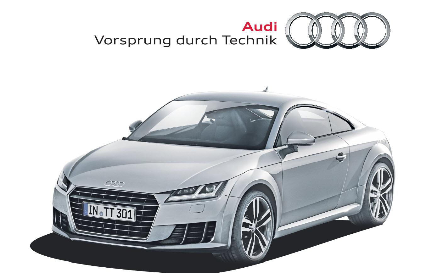 Anzeige: Schärfer als je zuvor. Der Audi TT.