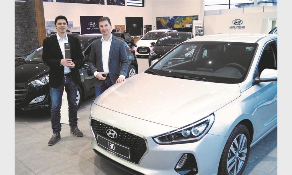 Autowelt Unterberger Strass stellt Österreichs besten Hyundai-Verkäufer
