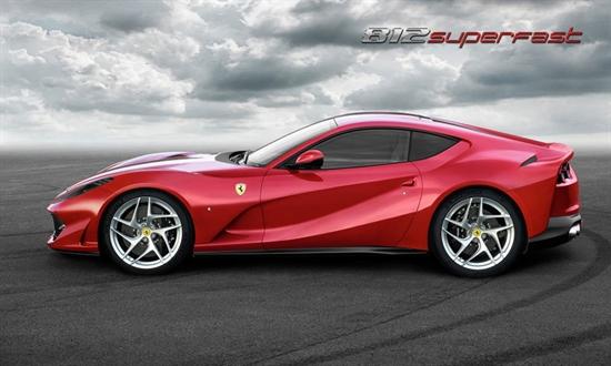 Bild der News Der Ferrari 812 Superfast: Weltpremiere in Genf für den neuen, extrem leistungsstarken V12 Berlinetta