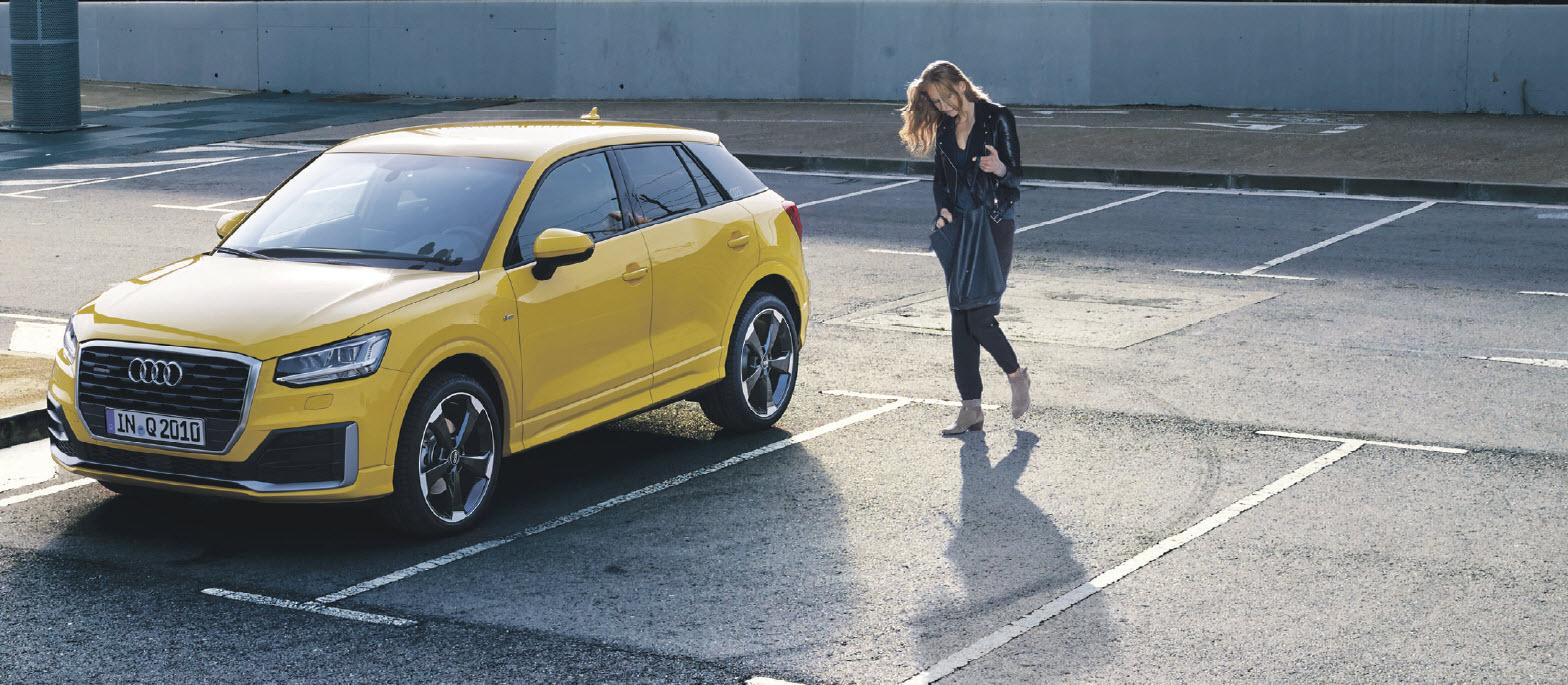 Anzeige: Der Audi Q2 mit quattro*. Lagerfahrzeug - Aktion !
