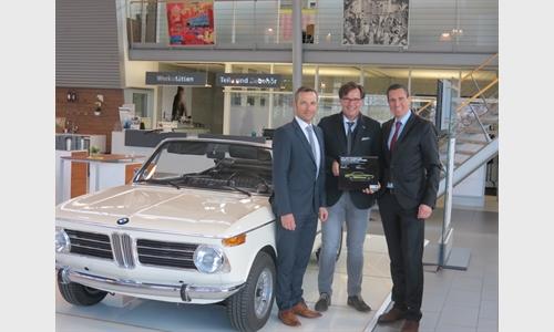 Foto der News BMW Unterberger Rosenheim als BMW Group Classic Stützpunkt zertifiziert