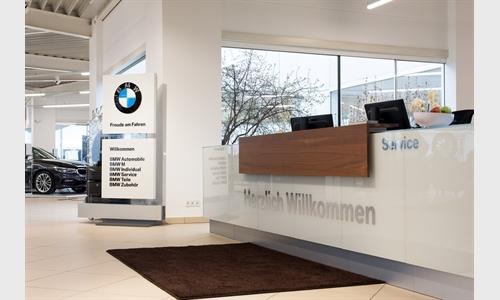 Foto der News Erfolgreicher Relaunch für BMW Unterberger Freilassing