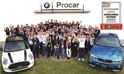 Foto der News Procar Automobile ist bester Ausbildungsbetrieb im Automobilhandel