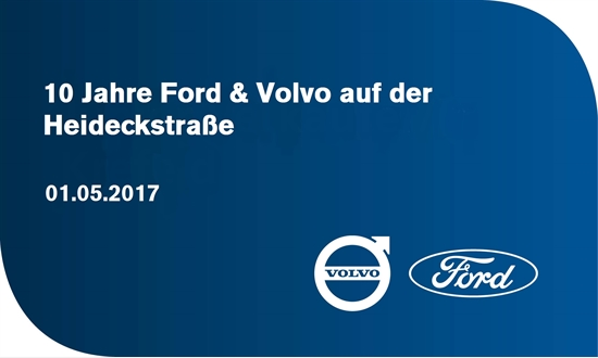 Foto des Events 10 Jahre Ford & Volvo auf der Heideckstraße