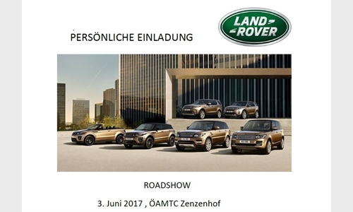 Foto der News Land Rover Roadshow