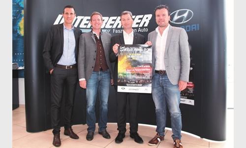 Foto der News Das klingt gut: Die Autowelt Unterberger Strass sponsert ein einzigartiges Tiroler Musikprojekt