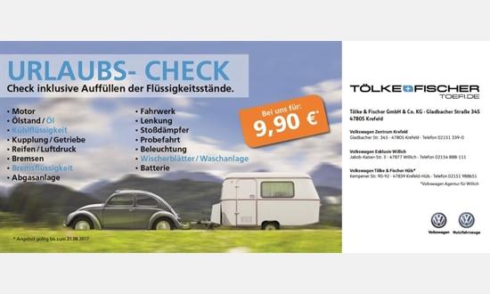 Foto des Serviceangebots Urlaubs-Check bei Tölke & Fischer