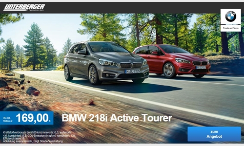 Foto der News BMW 218i Active Tourer