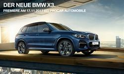 Foto der News DER NEUE BMW X3 - INTELLIGENTER ENTDECKER MIT STARKER PRÄSENZ.